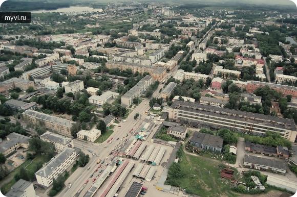 Фото с воздуха - Великие Луки