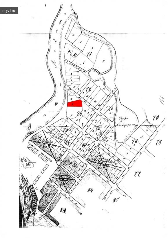 План города Великие Луки 1895