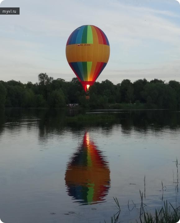 кей-граб, 2017,ловать, воздушный шар