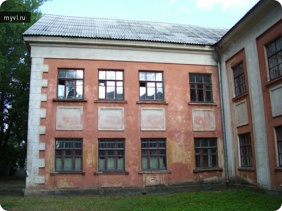 старое здание школы № 49