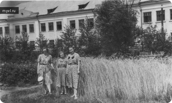 пришкольный участок школы №49