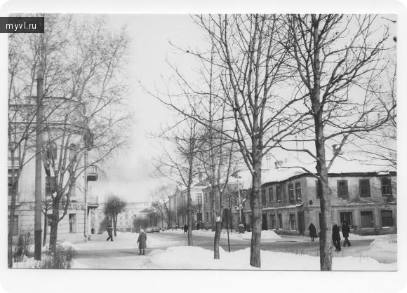 улица Пионерская 70-80 годы прошлого века