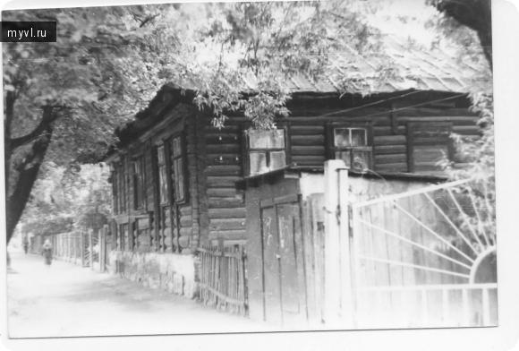 старый дом на ул. Л. Чайкиной