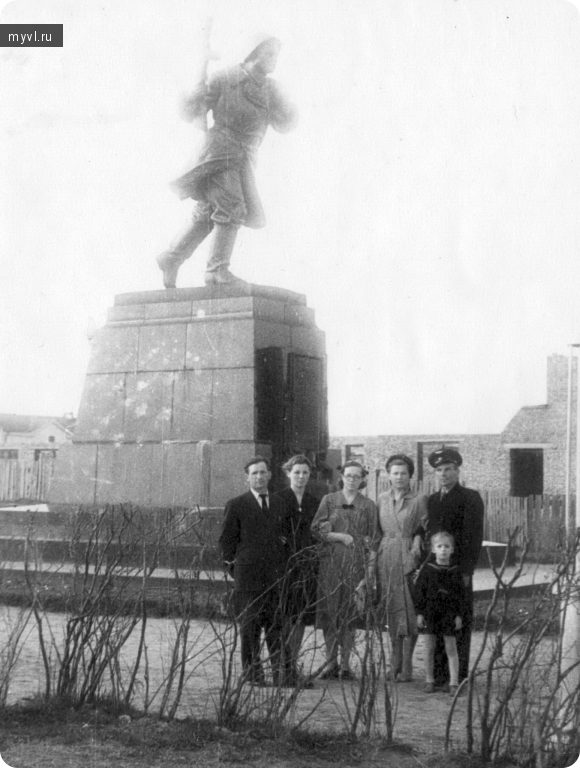 май 1958, стройка учебного корпуса с/х института