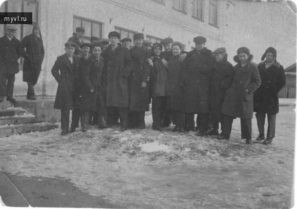 довоенная школа № 14 г. Великие Луки.